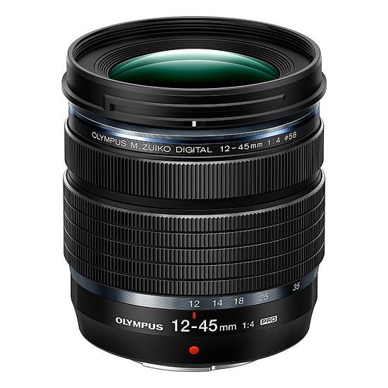 Objectif pour appareil photo Olympus M.Zuiko Digital ED 12-45mm f/4 PRO