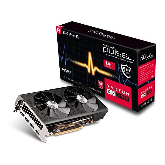 Carte graphique Sapphire Radeon RX 570 Pulse Lite