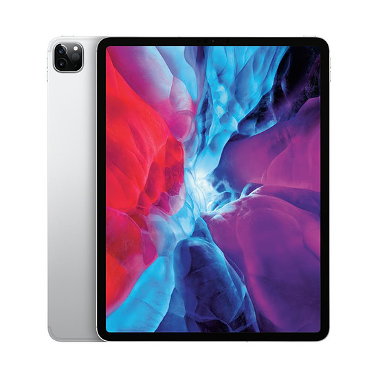 Tablette Apple iPad Pro 12,9 pouces 2020 Wi-Fi + Cellular - 128 Go - Argent