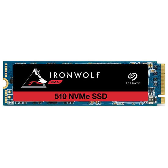 Disque SSD Seagate IronWolf 510 - 480 Go