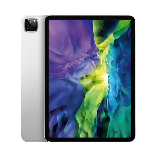 Tablette Apple iPad Pro 11 pouces 2020 Wi-Fi + Cellular - 256 Go - Argent