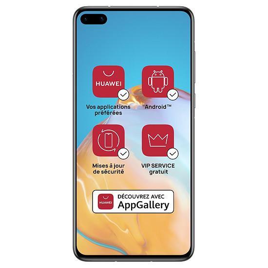 Smartphone et téléphone mobile Huawei P40 5G Silver Frost