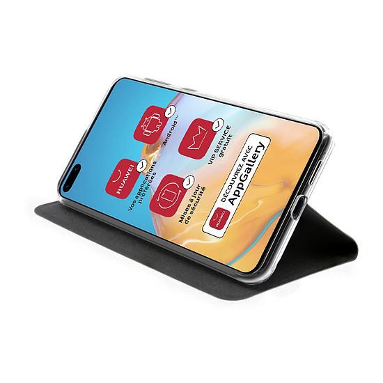 Coque et housse Akashi Etui Folio (noir) - Huawei P40 - Autre vue