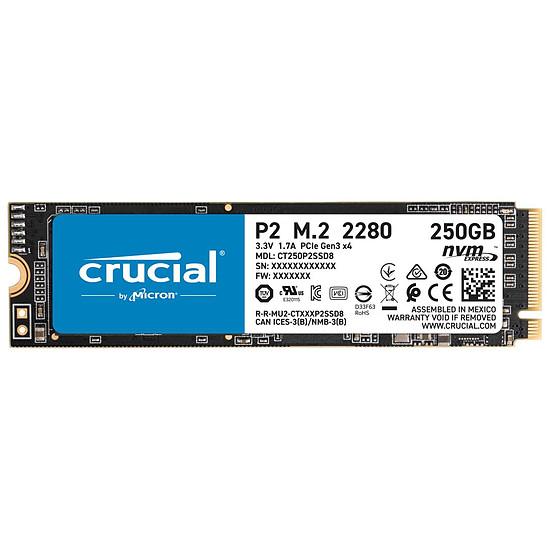 Disque SSD Crucial P2 - 250 Go