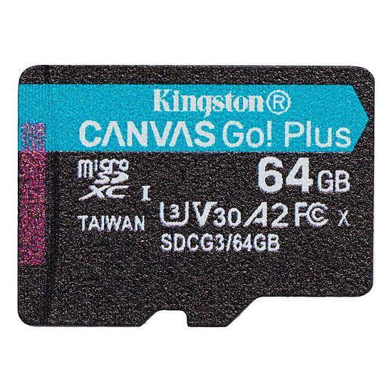 Carte mémoire Kingston Canvas Go! Plus SDCG3/64GB - Autre vue
