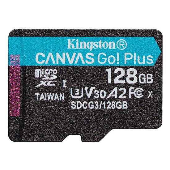 Carte mémoire Kingston Canvas Go! Plus SDCG3/128GB - Autre vue