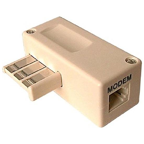 Connectique RJ11 Adaptateur ADSL - Prise Téléphone - RJ11