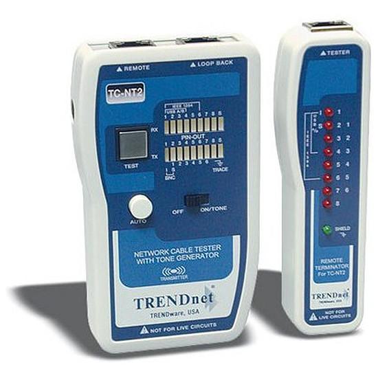 Outillage Testeur de câbles réseaux avec dispositif audio