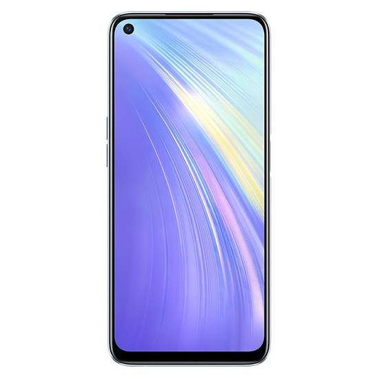 Smartphone et téléphone mobile Realme 6 Blanc - 128 Go - 4 Go - Autre vue