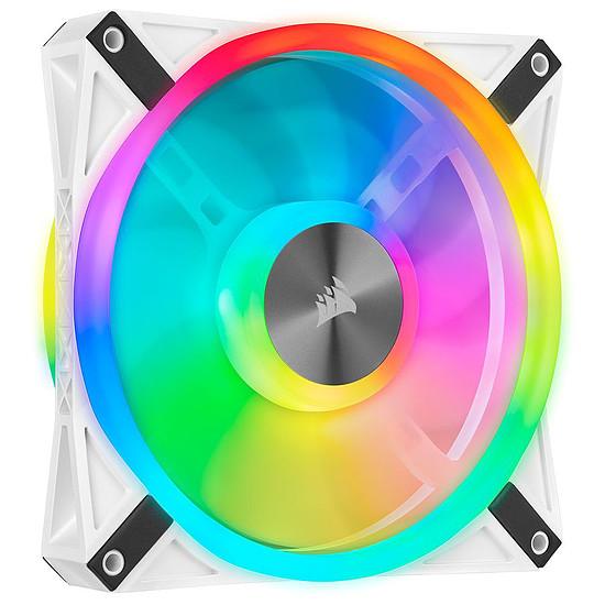 Ventilateur Boîtier Corsair QL120 RGB - Blanc