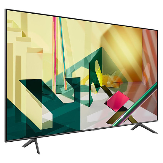 TV Samsung QE75Q70 T - TV QLED 4K UHD HDR - 189 cm - Autre vue