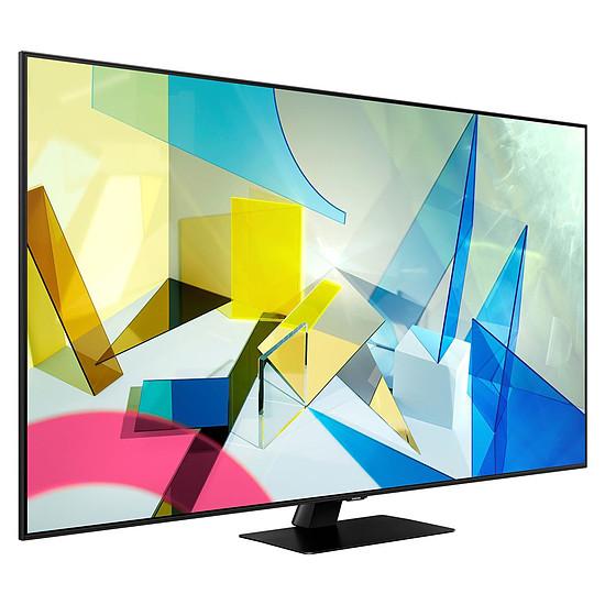 TV Samsung QE75Q80 T - TV QLED 4K UHD HDR - 189 cm - Autre vue