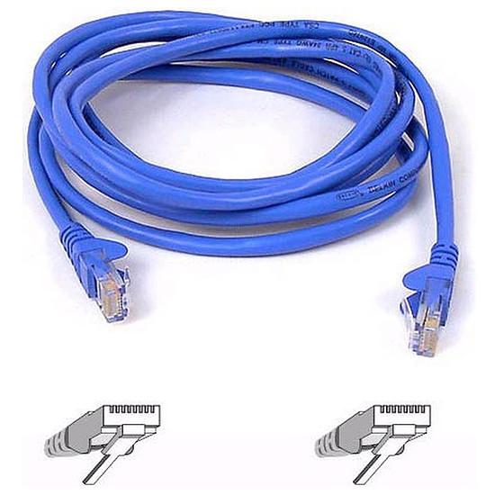 Câble RJ45 Cable RJ45 Cat 5e U/UTP (bleu) - 2 m