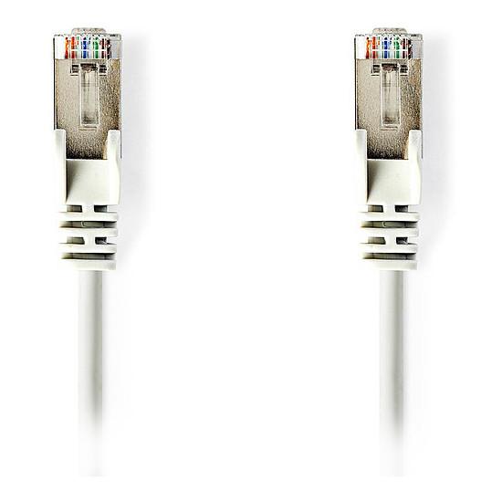 Câble RJ45 Cable RJ45 Cat 5e F/UTP (blanc) - 10 m