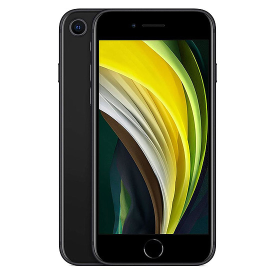 Smartphone et téléphone mobile Apple iPhone SE (noir) - 256 Go