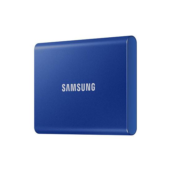 Disque dur externe Samsung T7 Bleu - 500 Go