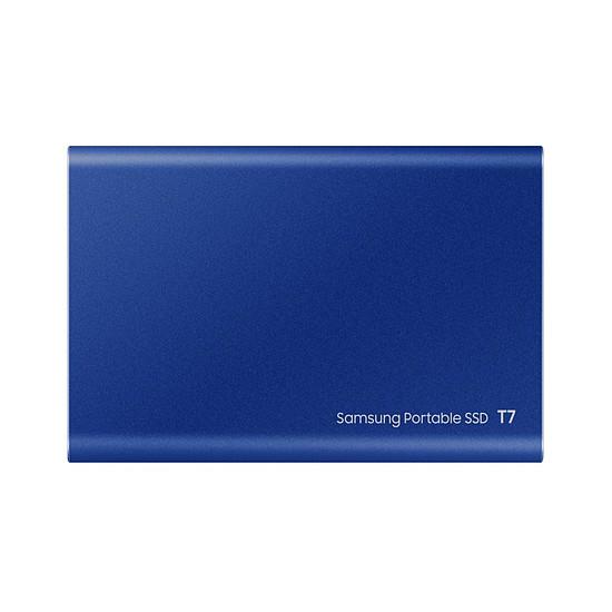 Disque dur externe Samsung T7 Bleu - 500 Go - Autre vue