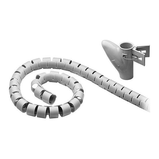 Passe câble et serre câble Gaine de rangement haute qualité pour câbles - diamètre 20 mm max. - longueur 2.5 m