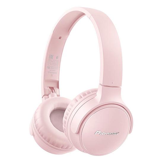 Casque Audio Pioneer SE-S3BT Rose - Casque sans-fil