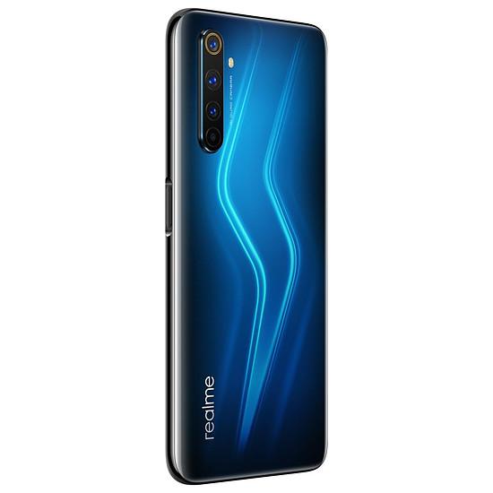 Smartphone et téléphone mobile Realme 6 Pro Bleu - 128 Go - 8 Go - Autre vue