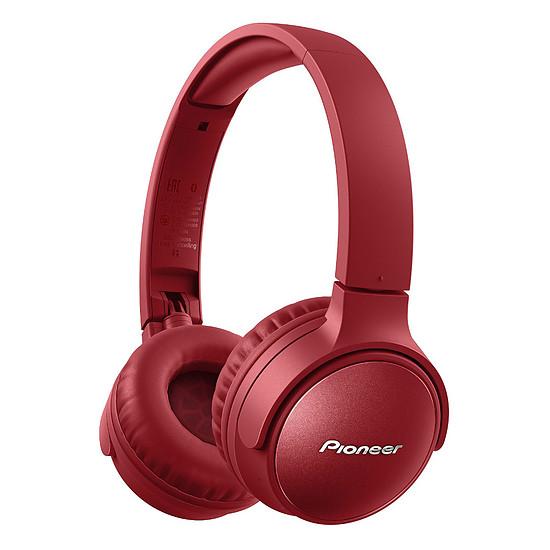 Casque Audio Pioneer SE-S6BN Rouge - Casque sans-fil