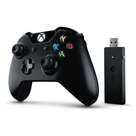Manette de jeu Microsoft Xbox One + Wireless adapter - Autre vue