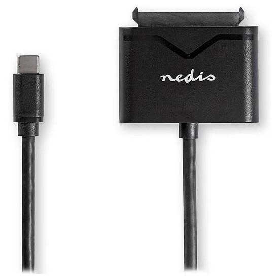 """USB Adaptateur USB-C 3.0 vers SATA pour HDD/SSD 2.5"""" et 3.5"""" - Autre vue"""