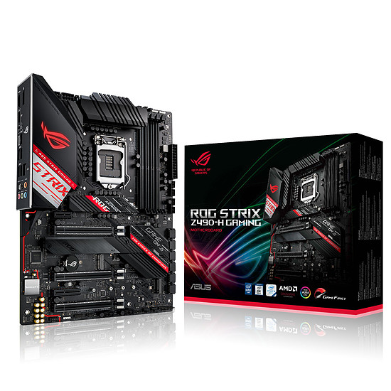 Carte mère Asus ROG STRIX Z490-H GAMING