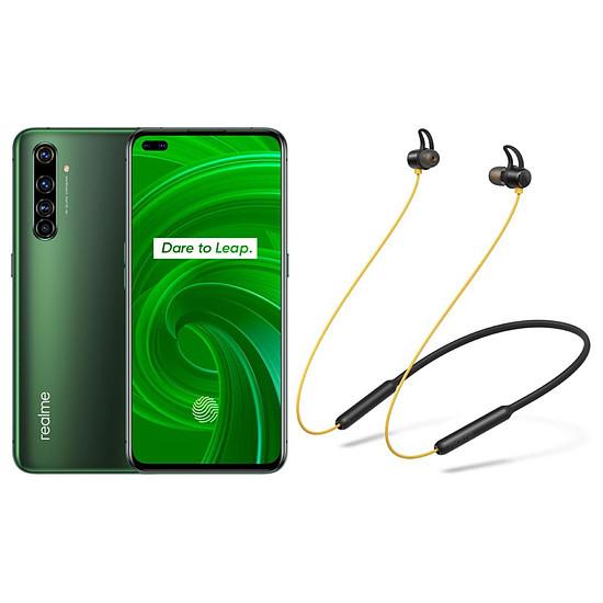 Smartphone et téléphone mobile Realme X50 Pro 5G Vert - 128 Go - 8 Go + Realme Buds