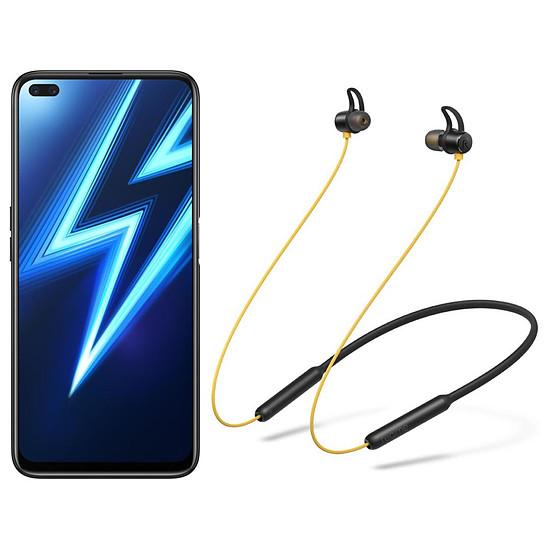 Smartphone et téléphone mobile Realme 6 Pro Bleu - 128 Go - 8 Go + Realme Buds