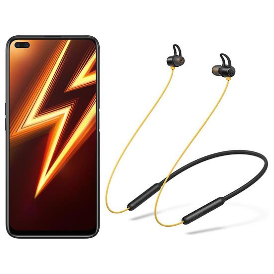Smartphone et téléphone mobile Realme 6 Pro Rouge foudroyant - 128 Go - 8 Go + Realme Buds