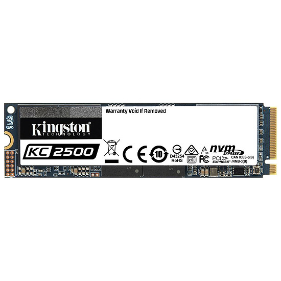 Disque SSD Kingston KC2500 - 250 Go