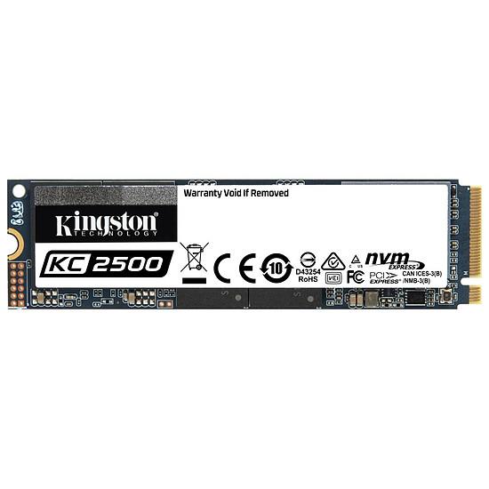 Disque SSD Kingston KC2500 - 2 To