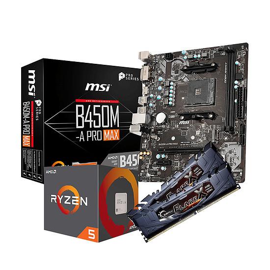 Kit upgrade PC AMD R5 1600AF - MSI B450 - RAM 16Go 3200MHz