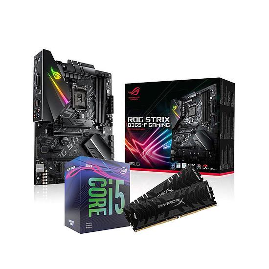 Kit upgrade PC Intel i5 9600KF - Asus B365 - RAM 16Go 2666Mhz