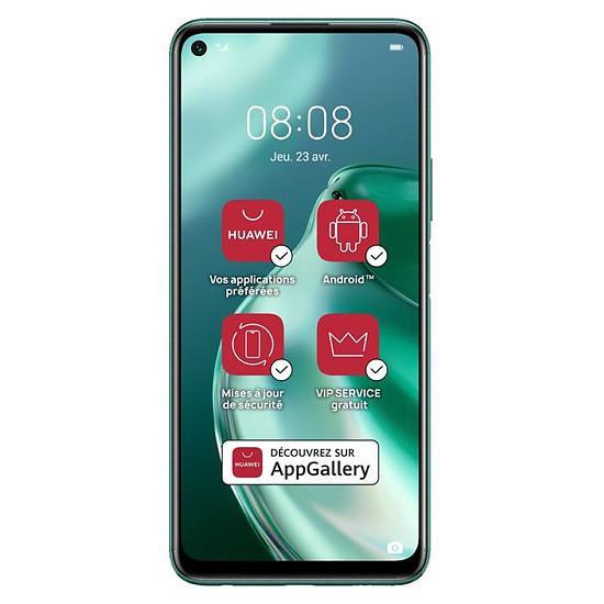 Smartphone et téléphone mobile Huawei P40 Lite 5G Crush Green