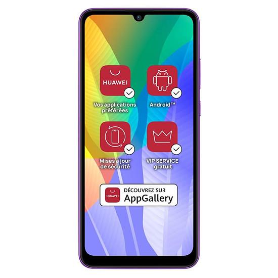 Smartphone et téléphone mobile Huawei Y6p (violet) - 64 Go - 3 Go