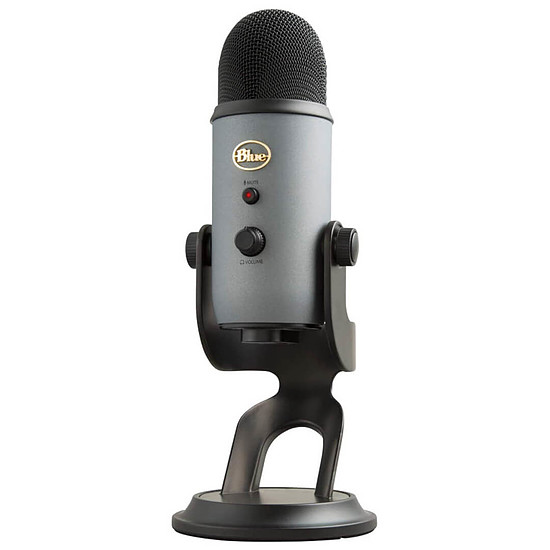 Microphone Blue Microphones Yeti - Gris Ardoise