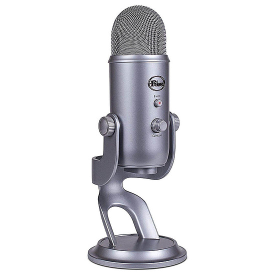 Microphone Blue Microphones Yeti - Gris Froid