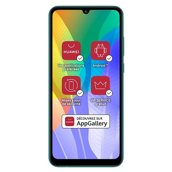 Smartphone et téléphone mobile Huawei Y6p (vert) - 64 Go - 3 Go