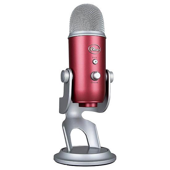 Microphone Blue Microphones Yeti - Rouge Acier