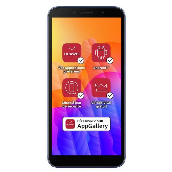 Smartphone et téléphone mobile Huawei Y5p (bleu) - 32 Go - 2 Go