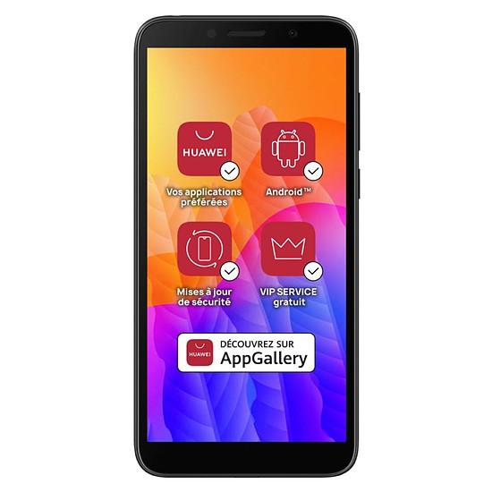 Smartphone et téléphone mobile Huawei Y5p (noir) - 32 Go - 2 Go