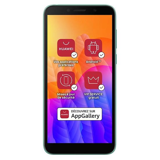 Smartphone et téléphone mobile Huawei Y5p (vert) - 32 Go - 2 Go