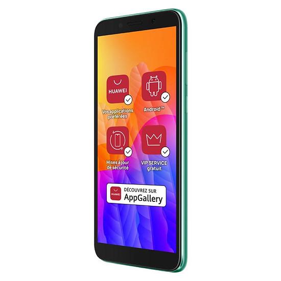 Smartphone et téléphone mobile Huawei Y5p (vert) - 32 Go - 2 Go - Autre vue