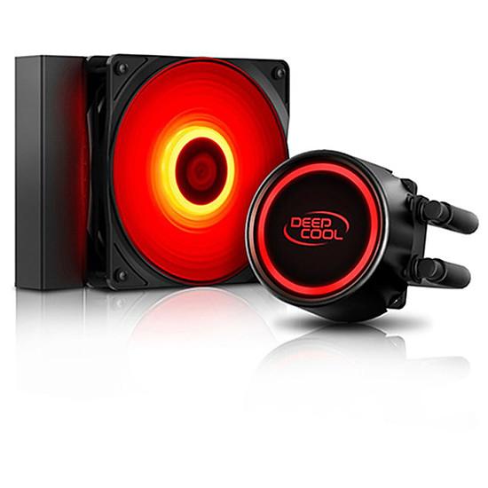 Refroidissement processeur Deepcool Gammaxx L120T - Rouge