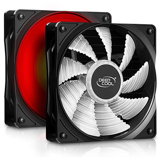 Refroidissement processeur Deepcool Gammaxx L120T - Rouge - Autre vue