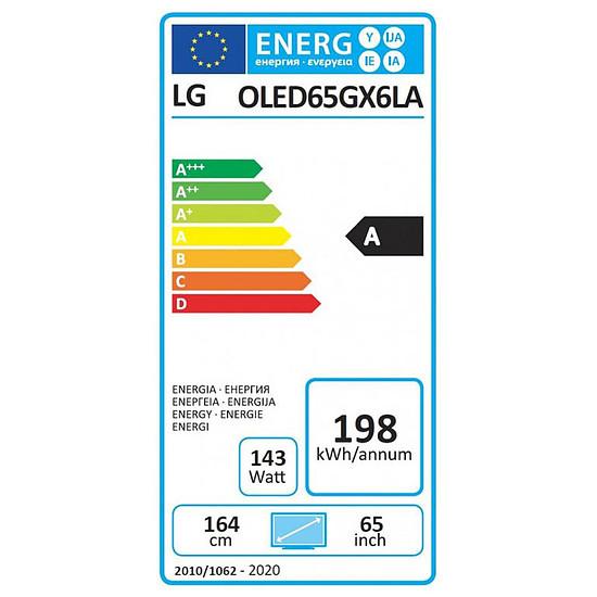 TV LG 65GX6 - TV OLED 4K UHD HDR - 164 cm - Autre vue