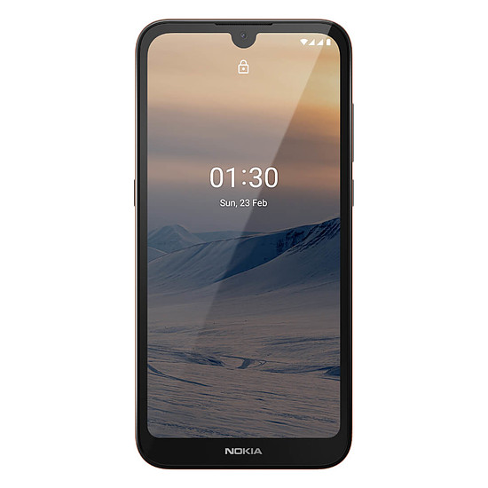 Smartphone et téléphone mobile Nokia 1.3 (sable) - 16 Go