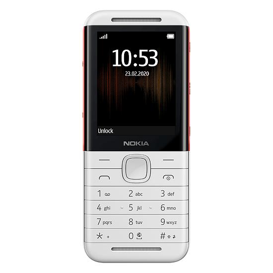 Smartphone et téléphone mobile Nokia 5310 (Blanc/Rouge) - Dual SIM